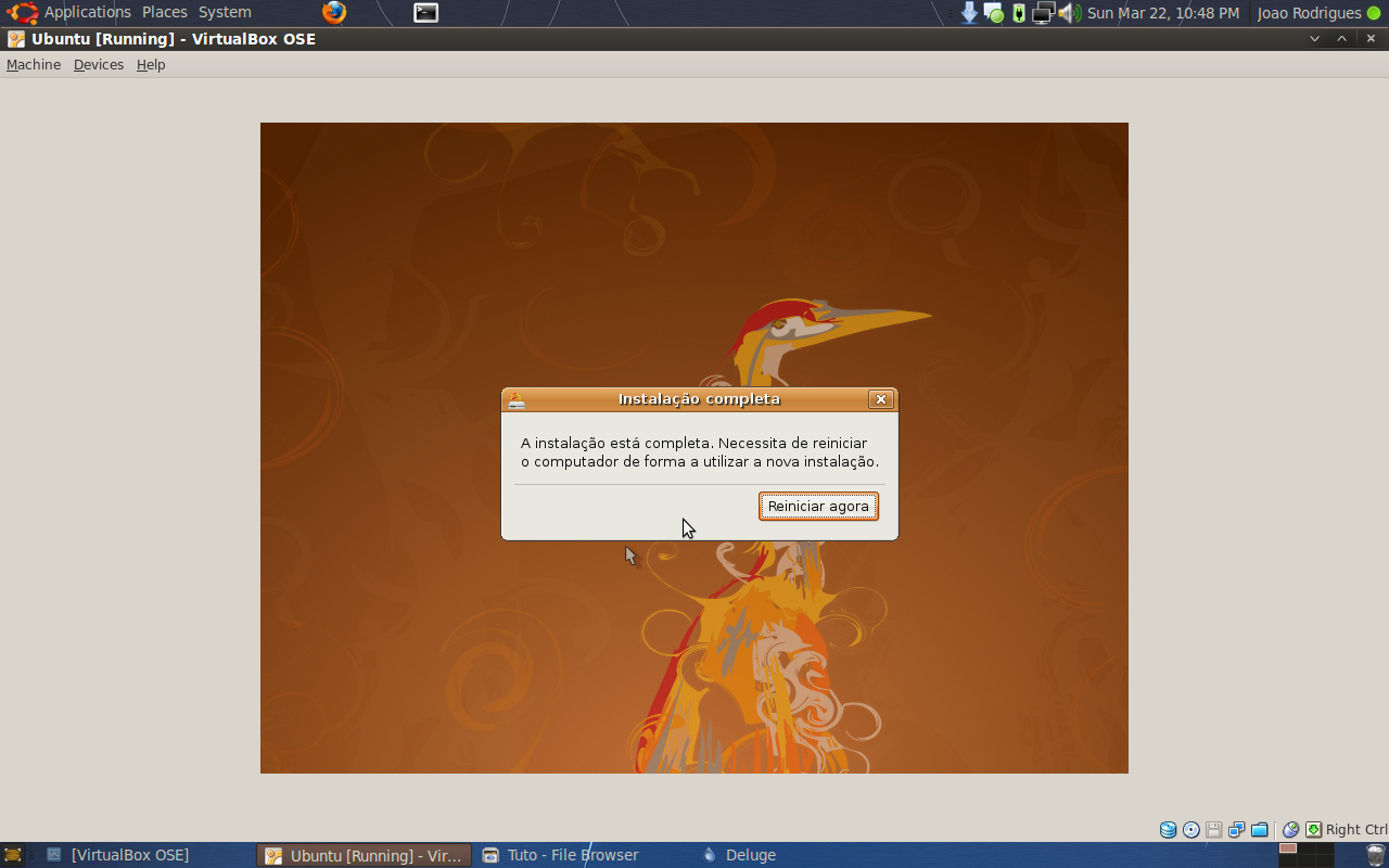 Instalar ou Actualizar o Ubuntu (Exemplo 8.04 para 8.10) 6